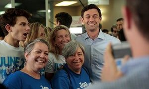 Georgia special election candidate says journalism has fueled 'lack of civility' | US news | The Guardian