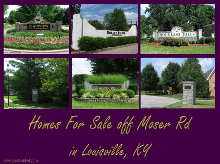 Homes For Sale Off Moser Rd Louisville Ky Include Houses And Condos In Blue Rose Douglass Hills Grandin Woods Pl Louisville Ky Ranch Style Homes Shelbyville