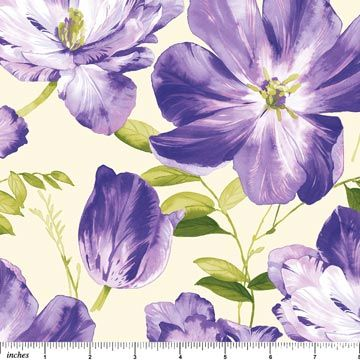 Splendor - Purple Passion, By Deborah Edwards Northcott Studio