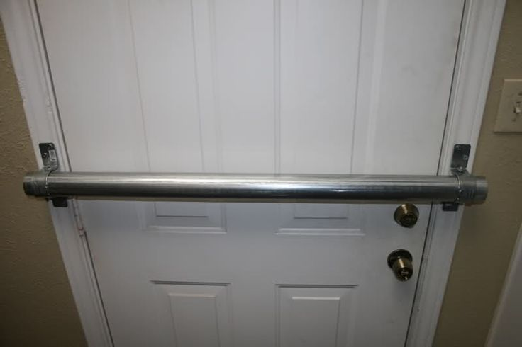 Pin by brandon mccreight on militia survival pinterest for Front door security bar