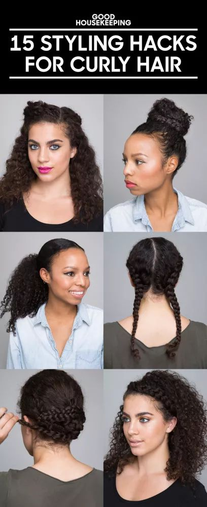 Tips and tricks for curly hair!