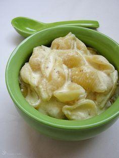 Mac and cheese z jedneho hrnca
