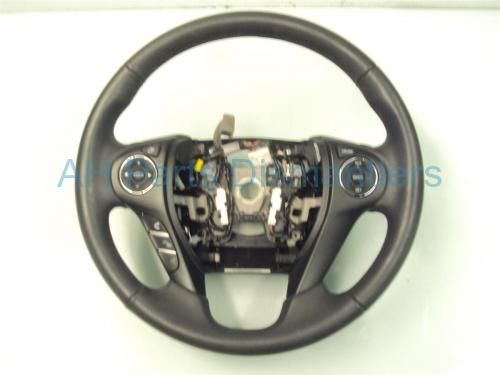 Used 2013 Honda Accord STEERING WHEEL - BLACK WITH PADDLE SHIFTERS 78501-T2A-U51ZA 78501T2AU51ZA. Purchase from https://ahparts.com/buy-used/2013-Honda-Accord-STEERING-WHEEL-BLACK-78501-T2A-U51ZA-78501T2AU51ZA/84619-1?utm_source=pinterest