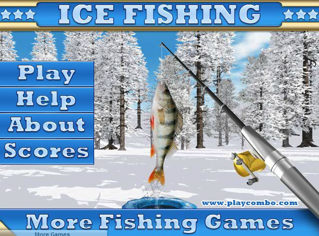 46 best ice fishing images on pinterest fishing fishing for Ice fishing games free
