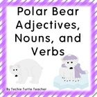 Students will love this polar bear themed parts of speech product.  It is 30 pages and it provides different activities for nouns, adjectives, and ...