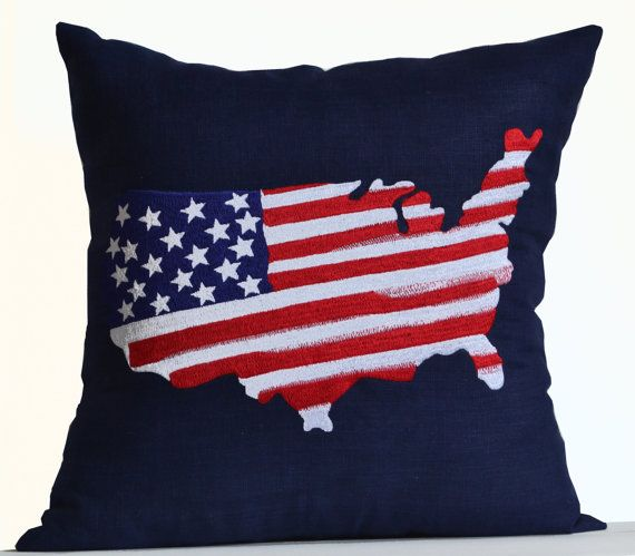 13 best US MAP PILLOW images on Pinterest Cushions Accent