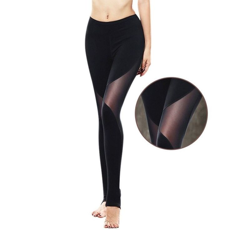 Hot Women Sport Trousers Female Splicing Yoga Pants Lady Slim Running Sweatpants