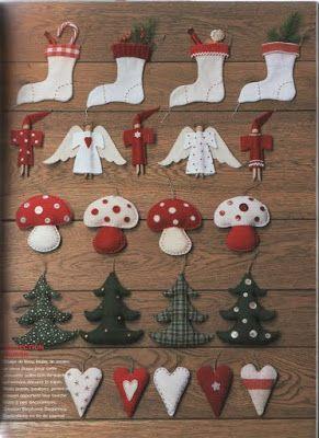 M s de 25 ideas incre bles sobre adornos caseros de navidad en pinterest adornos de masa de - Adornos de navidad caseros faciles ...