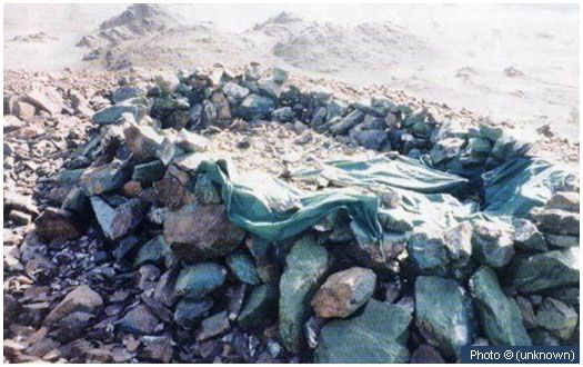 Grave of Bibi Aminah (may Allah be pleased with her) This grave, located in Abwa, close to Madinah is of Bibi Aminah (may Allah be pleased with her), the mother of the Prophet (peace and blessings of Allah be on him). She passed away returning from Madinah to Makkah when the Prophet (peace and blessings of Allah be on him) was just six years old.