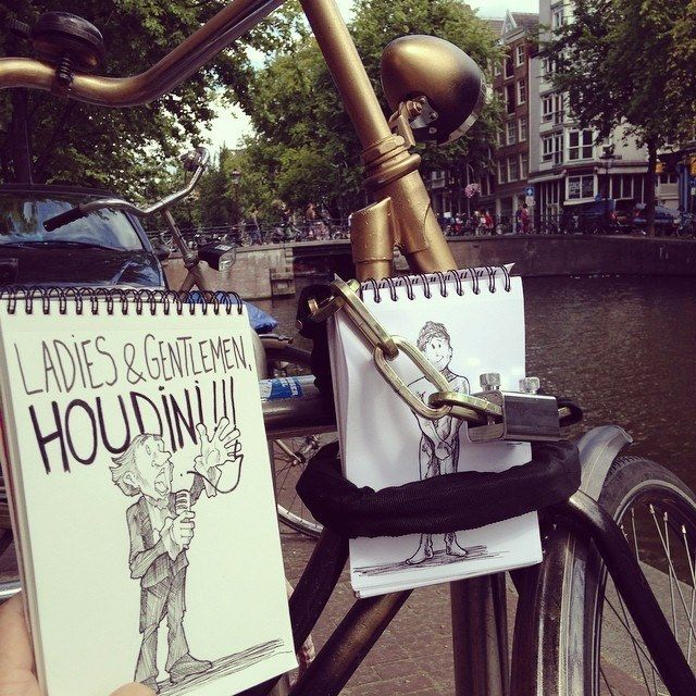 The Houdini Trick  18 Creative & Arty Cartoon Bomb Drawings That Will Leave You Amazed • Page 5 of 5 • BoredBug