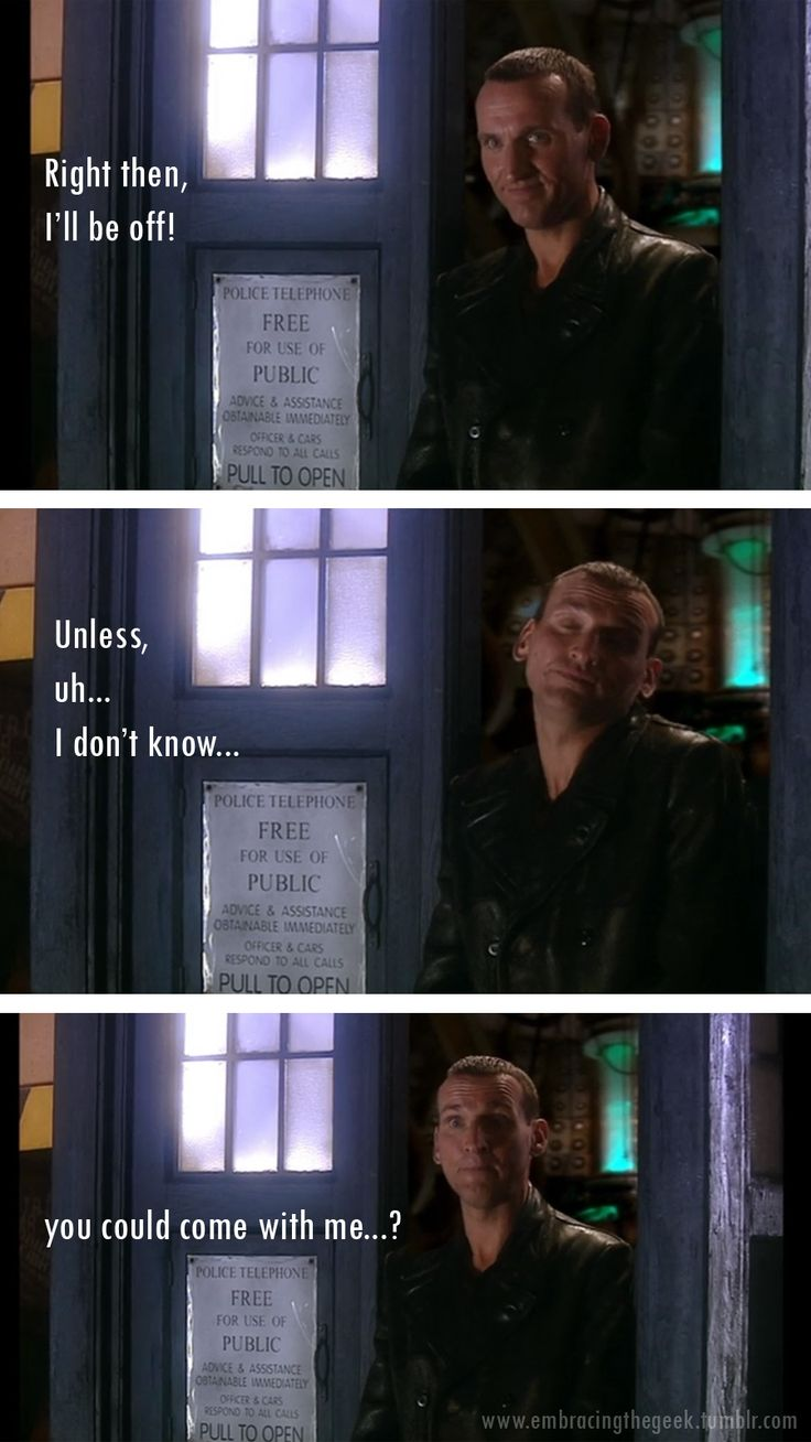 And thus I fell in love with the Doctor.