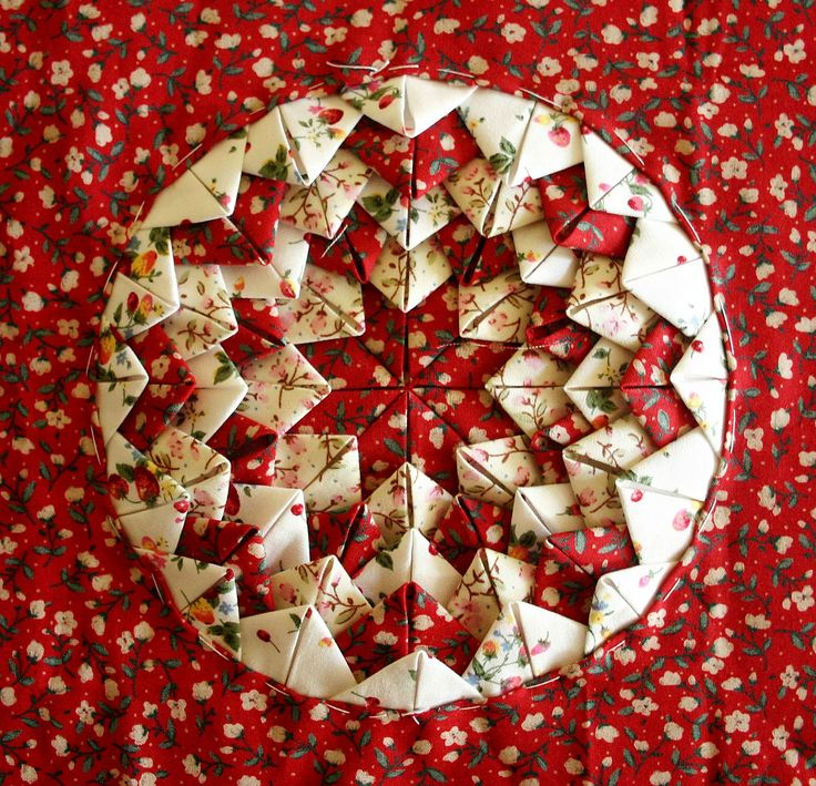 Folded Fabric Christmas Tree: 9 Curated Folded Star Ideas By Taw631