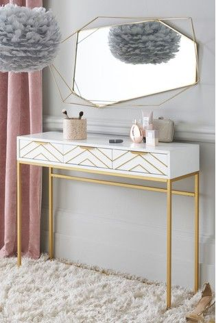 . Lipsy Console   random in 2019   Bedroom dressing table  Cabinet