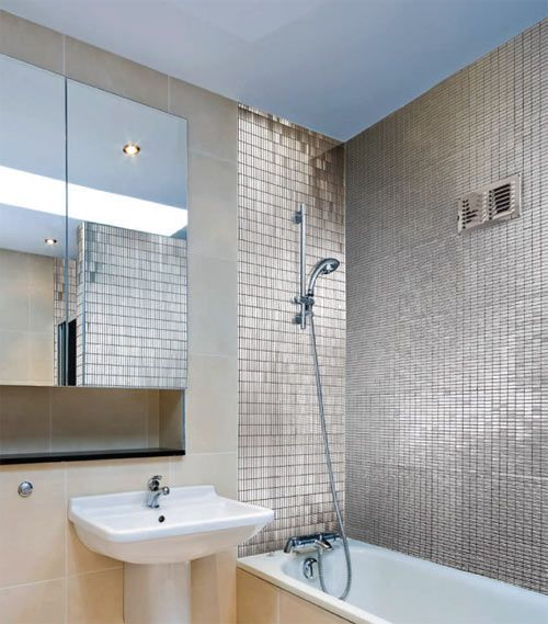Neelnox Stainless Steel Mosaic Tiles Bathroom Color Tile Designs Design