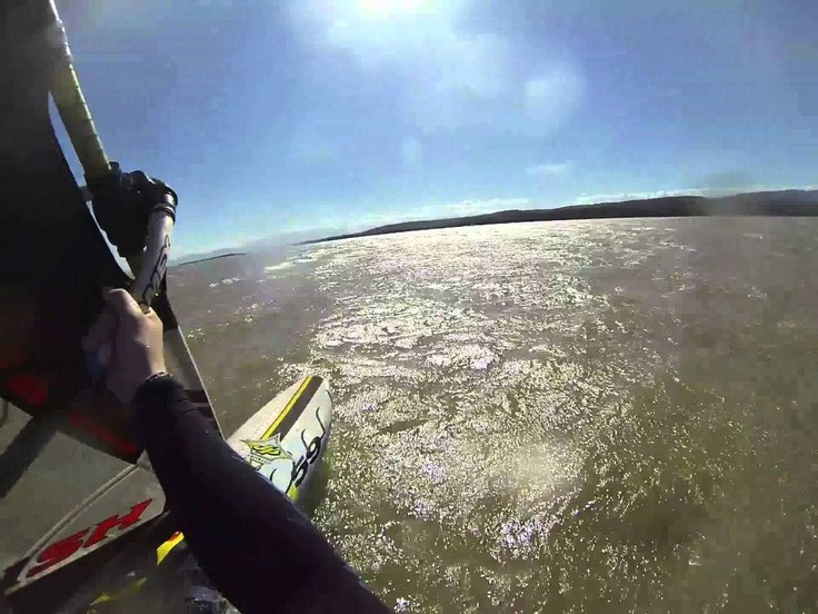 Windsurfing moment: Leucate Le Goulet