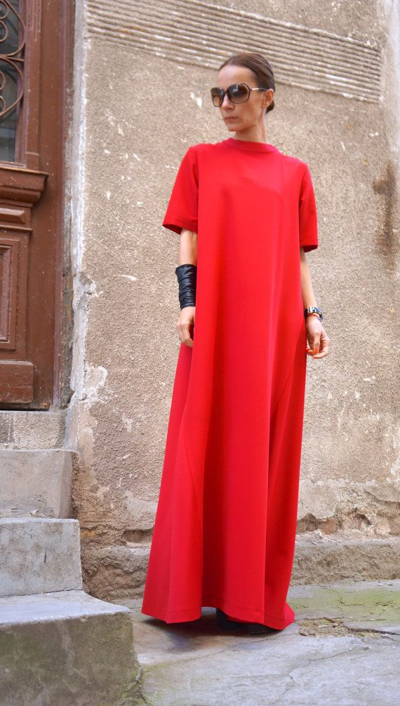 Hey, I found this really awesome Etsy listing at https://www.etsy.com/dk-en/listing/265451347/new-collection-xxlxxxl-maxi-dress-red