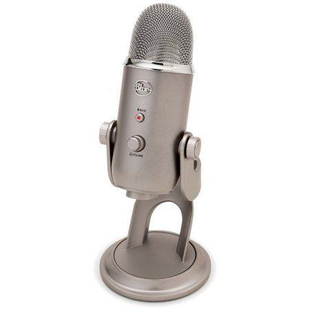 Blue Yeti 4-Pattern USB Microphone Image 2 of 3