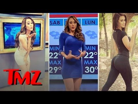 nice Weather Videos - Hottest Weather Girl EVER! | TMZ #Weather and  #News