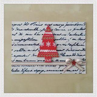 Handicrafts: Χριστουγεννιάτικες Κάρτες 2016-2017 (2)