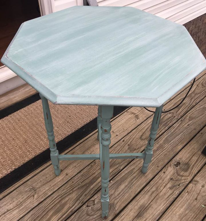 Love The White Glaze On This Table, Mineral Based Paint By Dixie Belle At  Somewhere In Time Antique Mall