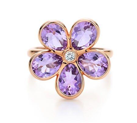 Tiffany Garden Flower ring.