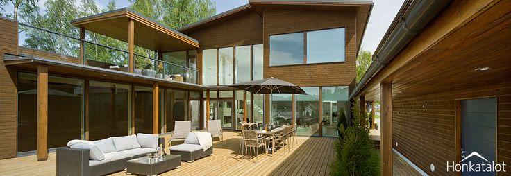 Terrace Ruska - Honkatalot.fi