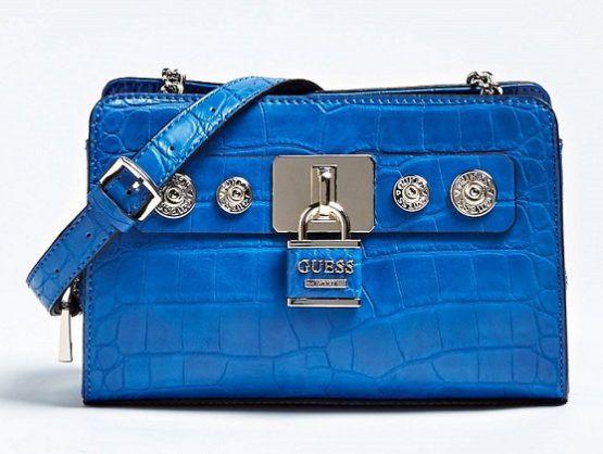 Bag 2019Bolsos Bolso Shoulder Azul Bandolera Guess En Yy7gvIbf6m
