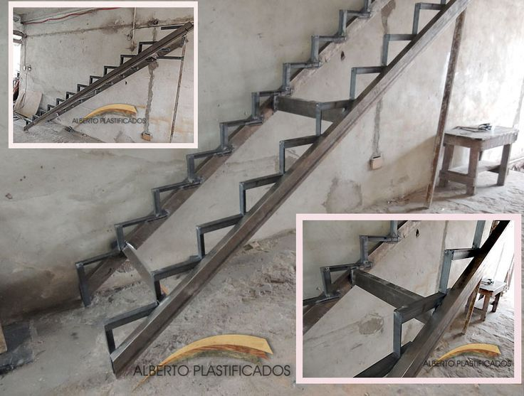 M s de 25 ideas incre bles sobre escaleras metalicas en for Escaleras de hierro para casas