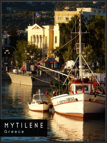 GREECE CHANNEL | Mytilini, Greece, is a town (pop.36,196) on the island of Lesbos in the North Aegean Sea. It is the island's capital. It stands on the southeast edge, with a land area of 107.46 square kilometres (41.49 sq mi).  It has a port with ferries to the nearby islands.  during my 2nd trip to Greece.