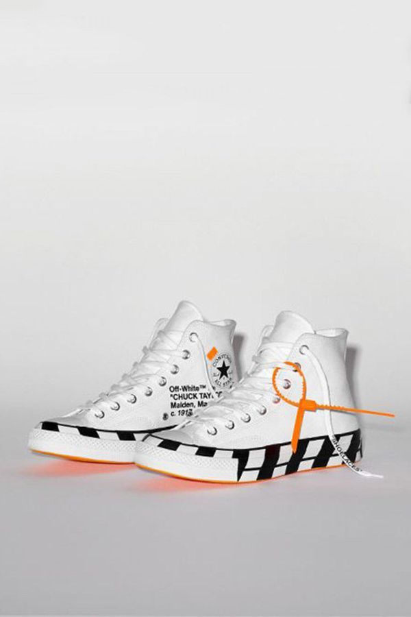 Off white Converse and Nike sz13