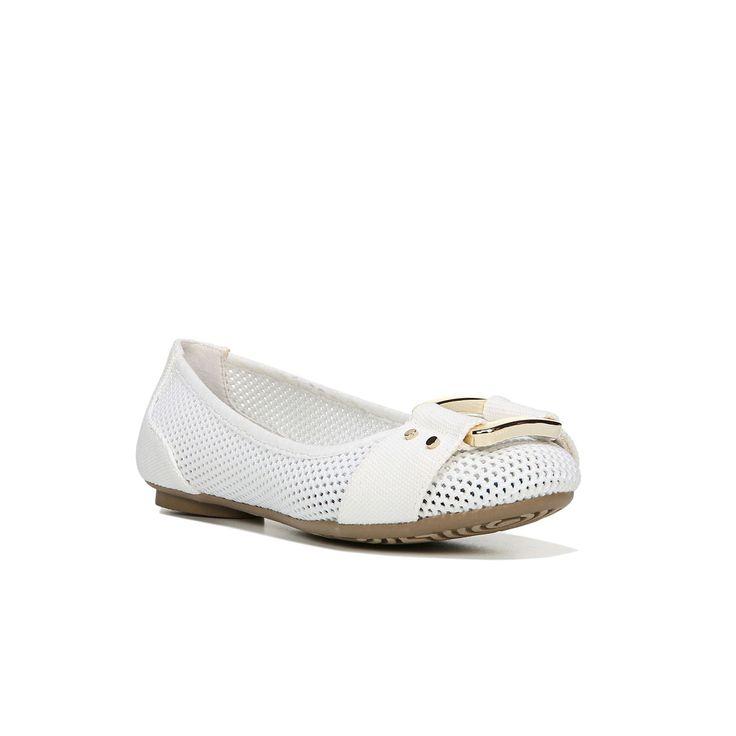 Dr. Scholl's Frankie Women's Ballet Flats, Size: medium (7.5), White