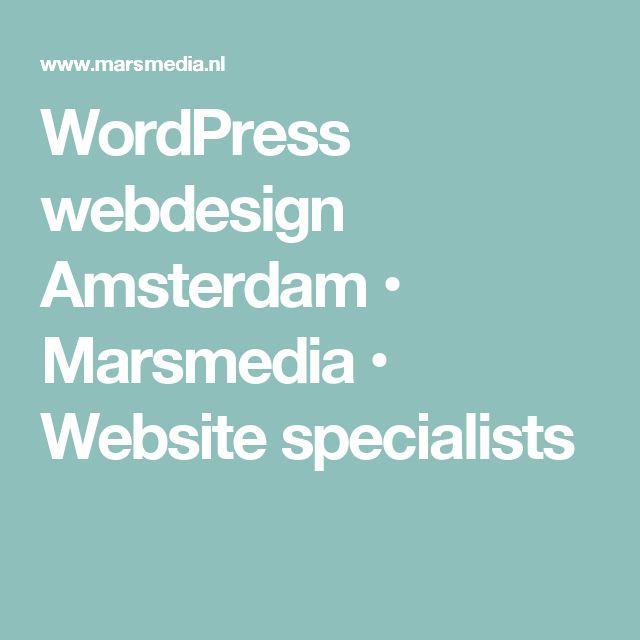 WordPress webdesign Amsterdam • Marsmedia • Website specialists