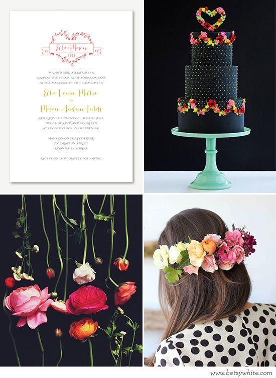 Whimsical wedding inspiration featuring our 'Love Logo No. 25' invitation // Flights of Fancy (click for image sources): Wedding Inspiration, Logo, Wedding Parties Colors