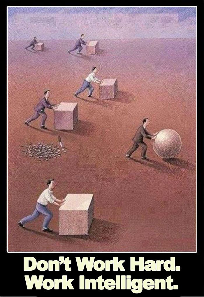 Person Sick Of The Don T Work Hard Work Intelligent Meme Hilariously Proves How False It Is Work Hard Meaningful Pictures Reality Quotes