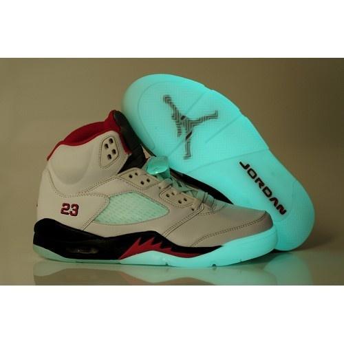 jordans 2016 shoes Cheap 136027 163 Air Jordan V 5 light sole White Red  Black - Cheap Air Jordan Shoes Air Jordan 5 Cheap Shoes for Sale
