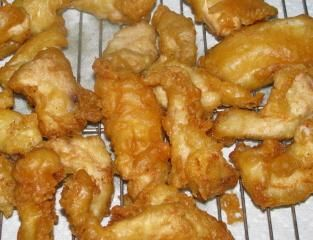 OMG this is the best batter for chicken I have ever had and I cant wait to try it on fish!!!