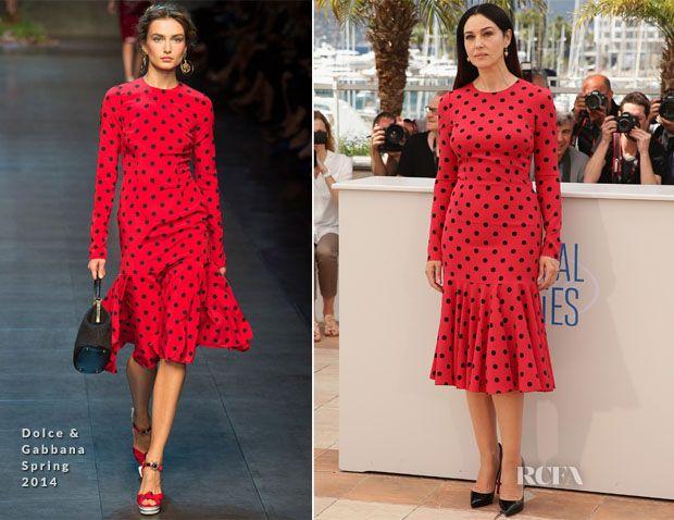 Monica Bellucci In Dolce & Gabbana - 'La Meraviglie' Cannes Film Festival Photocall