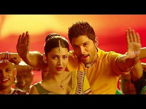 Race Gurram ᴴᴰ Full Video Songs   Cinema Choopistha Mava Song   Allu Arjun   Shruti Haasan   Saloni - YouTube