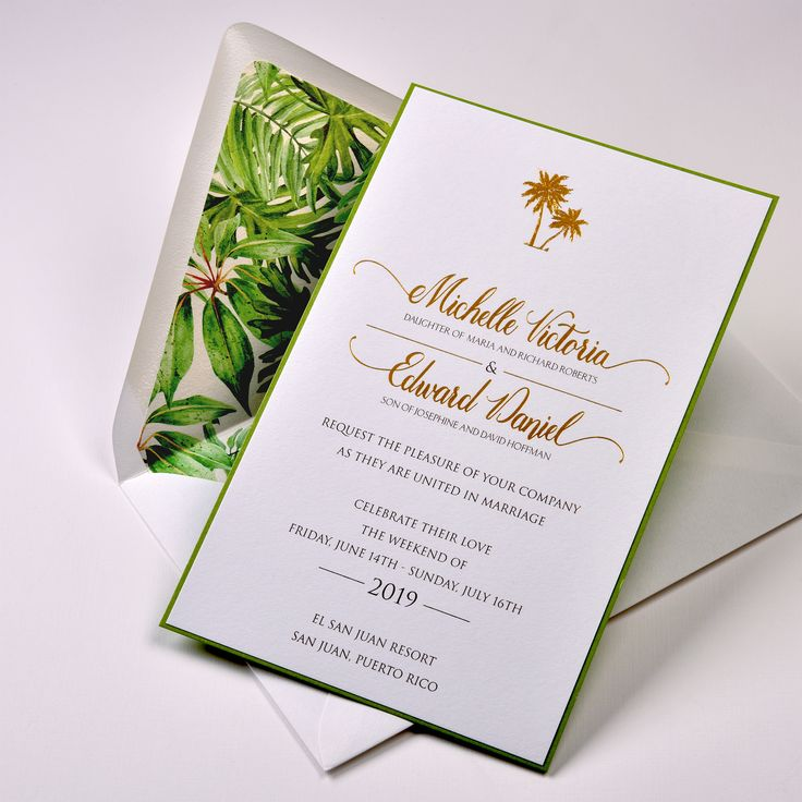 72 best Beach and Destination Wedding Invitations images ...