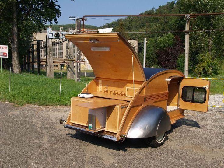 nieuwe teardrop camper in oude stijl TE KOOP ( Tear drop Caravan, Teardrop Trailer, Mini Caravan ) | Classic Caravan