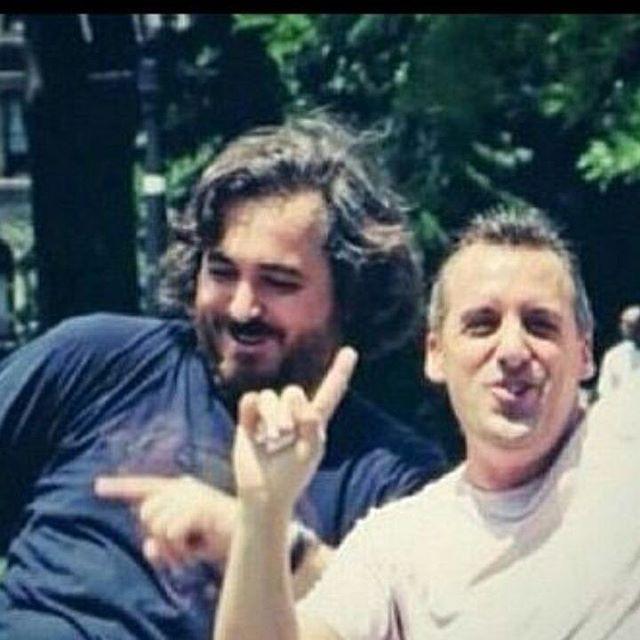 Two wild and crazy guys!! #bqquinn #joe_gatto #thetenderloins #wild #trutvjokers #impracticaljokers