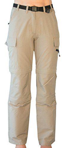 Kaufen Deproc Active Damen Trekking und Wander hose KENORA Double Zip-Off sand 40 54844-720 Bewertungen