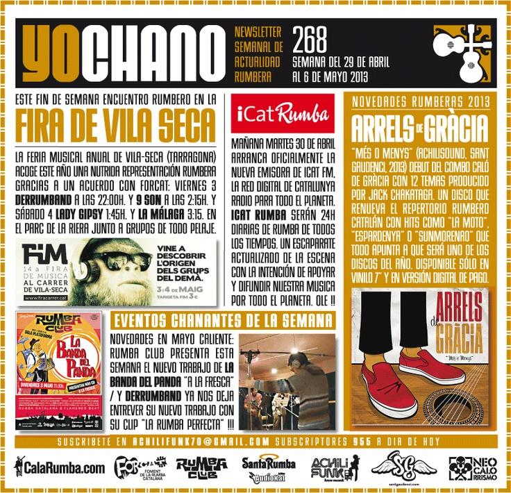 SANT GAUDENCI Rumba Catalana: YOCHANO nº268