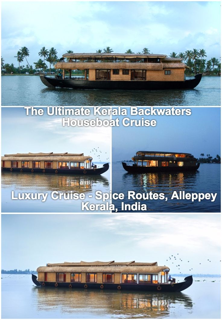 Spice Routes Luxury Cruises, Alleppey, Kerala, India | Kerala Houseboat Cruise | Kerala Luxury Houseboats | Kumarakom houseboats | Alleppey houseboats | Luxury houseboats in Alleppey | 5 star houseboats in Kerala | Honeymoon houseboat in Alleppey | #travel #Kerala #KeralaBackwaters #KeralaCruise #KeralaCruises #KeralaBackwaterCruise #LuxuryCruise #LuxuryTravel #IncredibleIndia | Romancing The Kerala Backwaters With Spice Routes Luxury Cruises