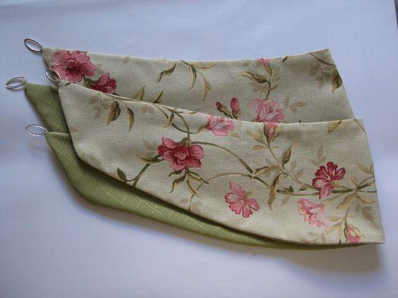 Housse de coussin 40x40 motifs graphiques gris shabby chic et shabby chic - Tissus fleuris anglais ...