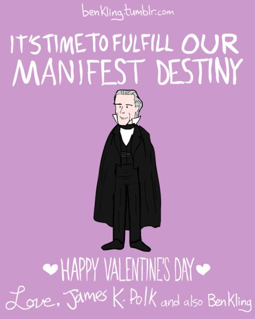 Valentineu0027s Day Is A Great Excuse For Awful Puns, But Artist Ben Kling  Takes It A Step Further With His Historical Figures Series Of Valentine  Cards.