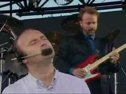 Phil Collins - In the air tonight (live) ... great performance                                                                                                                                                                                 Plus