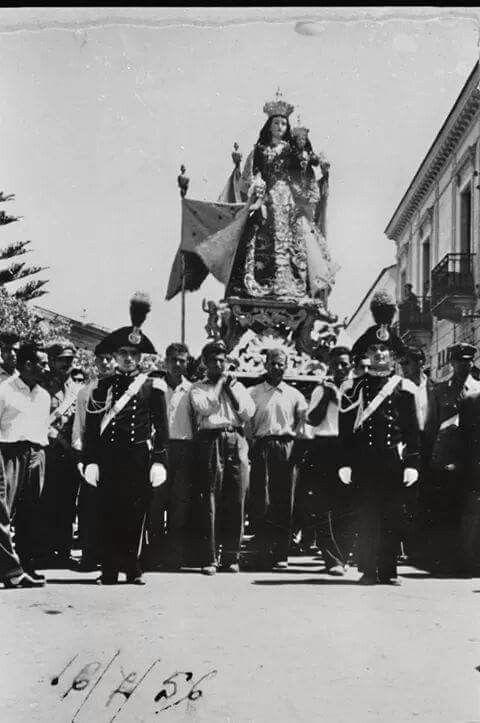Processione della B V Madonna del Carmine