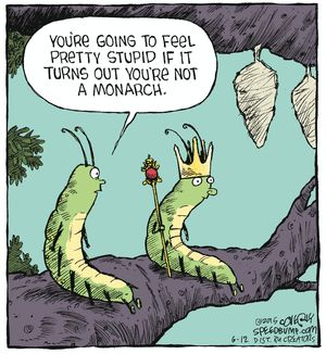 Speed Bump Comic Strip on GoComics.com | Butterfly humor