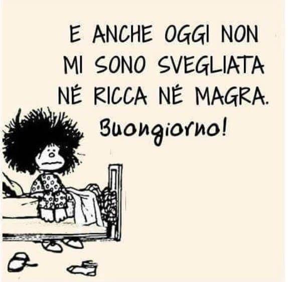 Buongiorno allegro frasi di mafalda lucy e altri for Immagini divertenti del buongiorno gratis